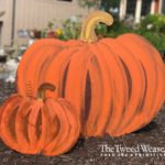 Rusted Steel Orange Pumpkins designed by Mike and Tish Bachleda