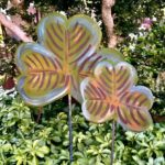 Painted Steel Shamrocks Design by Mike and Tish Bachleda