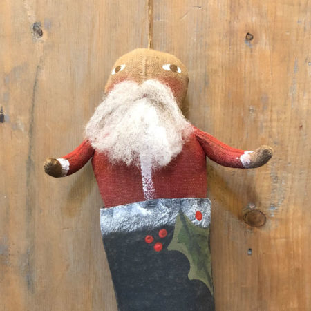 Santa in Boot Ornament Design by Tish Bachleda