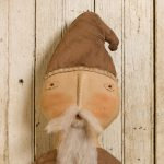 Santa in Brown doll designed by Tish Bachleda
