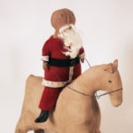 Santa on Horse design by Tish Bachleda