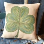 Shamrock Pillow Design by Tish Bachleda