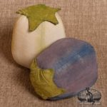 Small Eggplants designed by Tish Bachleda