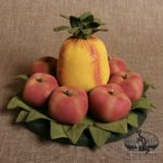 Small Pineapple Centerpiece Design by Tish Bachleda