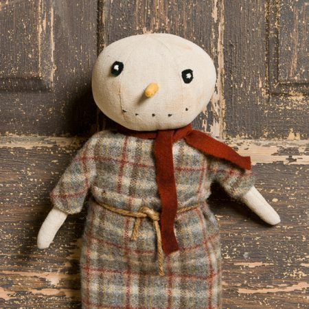 Small Snowgirl handcrafted by Tish Bachleda