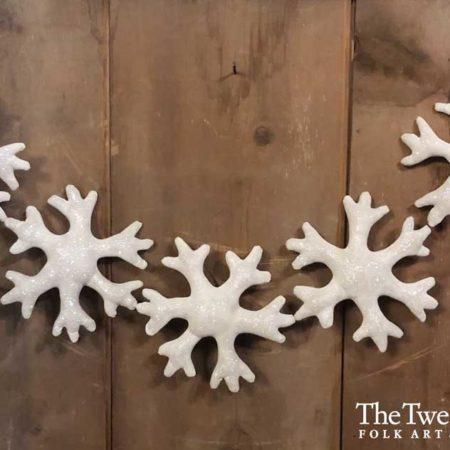 Snowflake Garland Design by Tish Bachleda
