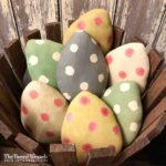 Spotted Easter Egg in Various Colors Design by Tish Bachleda