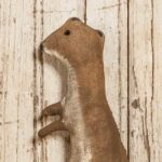 Standing Weasel ornament design by Tish Bachleda