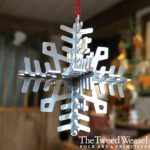 Stainless Steel Snowflake Ornament by Tish and Mike Bachleda