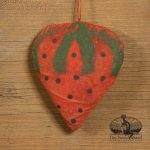 Strawberry Ornament designed by Tish Bachleda