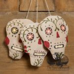 Sugar Skull Ornament design by Tish Bachleda