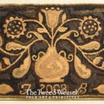 Sunflower Floral Hooked rug Design by Tish Bachleda