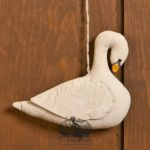 Swan Ornament design by Tish Bachleda