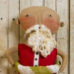 Swimming Santa doll design by Tish Bachleda