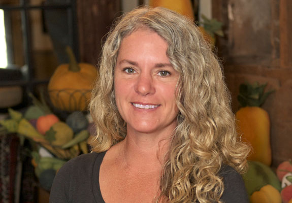 Tish Bachleda co-owner of The Tweed Weasel and Rural Co.