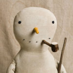 Traditional Snowman doll design by Tish Bachleda