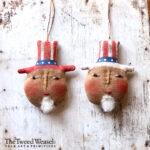 Uncle Sam Ornament Design by Tish Bachleda