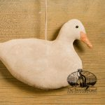 White Duck ornament design by Tish Bachleda