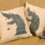 Witch Pillows designed by Tish Bachleda