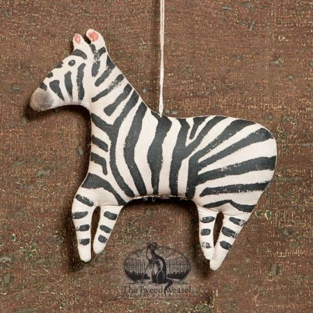 Zebra Ornament design by Tish Bachleda